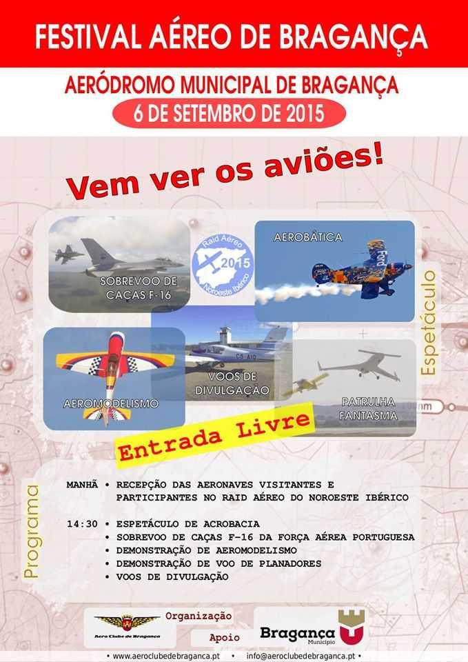 Festival Aéreo de Bragança
