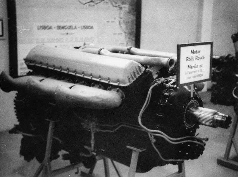 Motor Merlin Spitfire FAP Ota