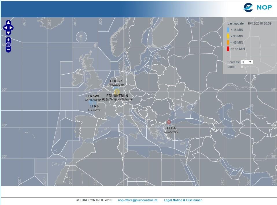Gestão dos Fluxos de Tráfego Aéreo – EUROCONTROL