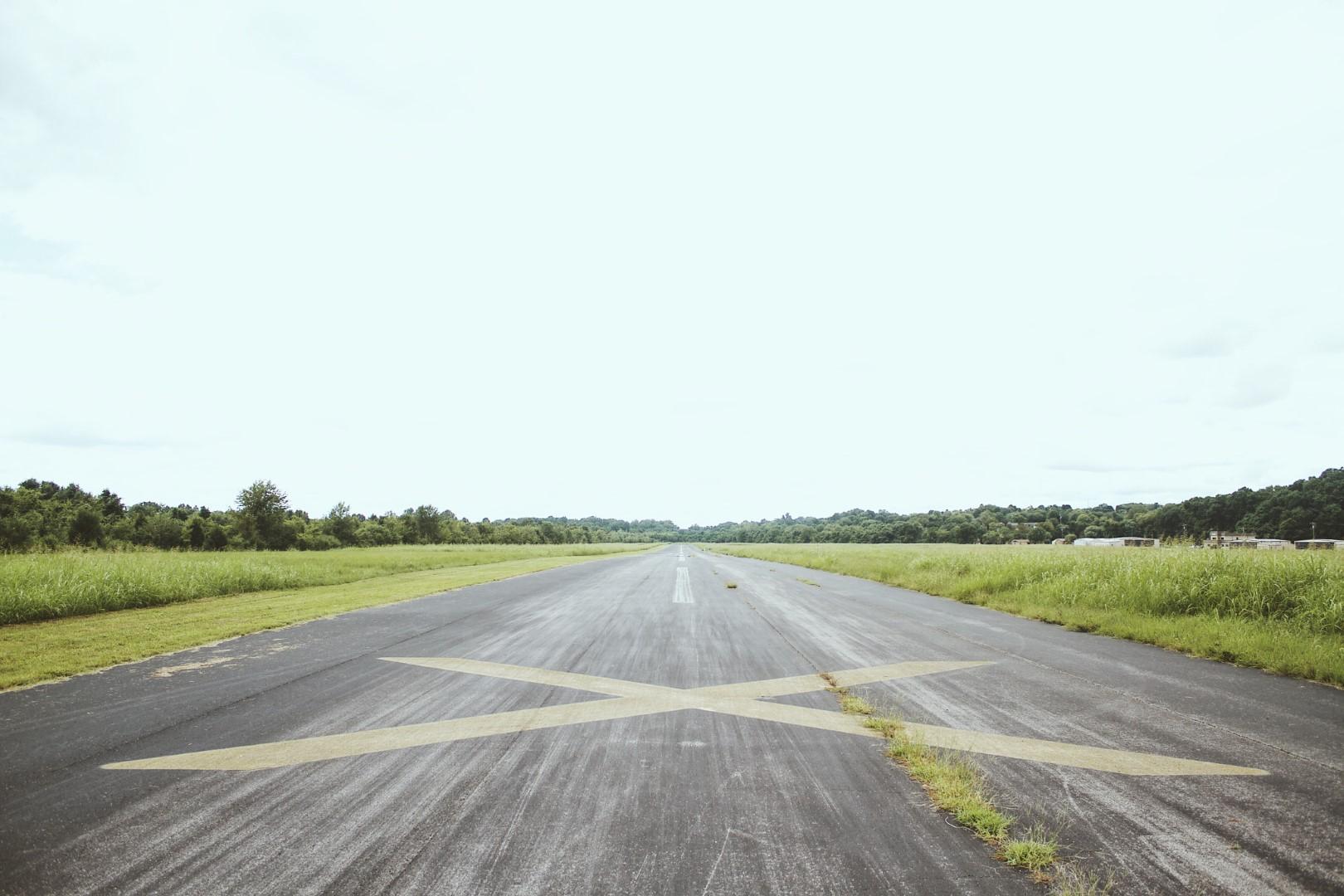 Aeródromo de Santarém – LPSR com restrições Pista 05