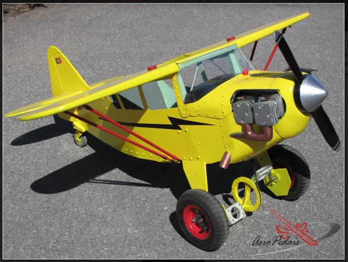 AeroPedais – Aviões para aviadores