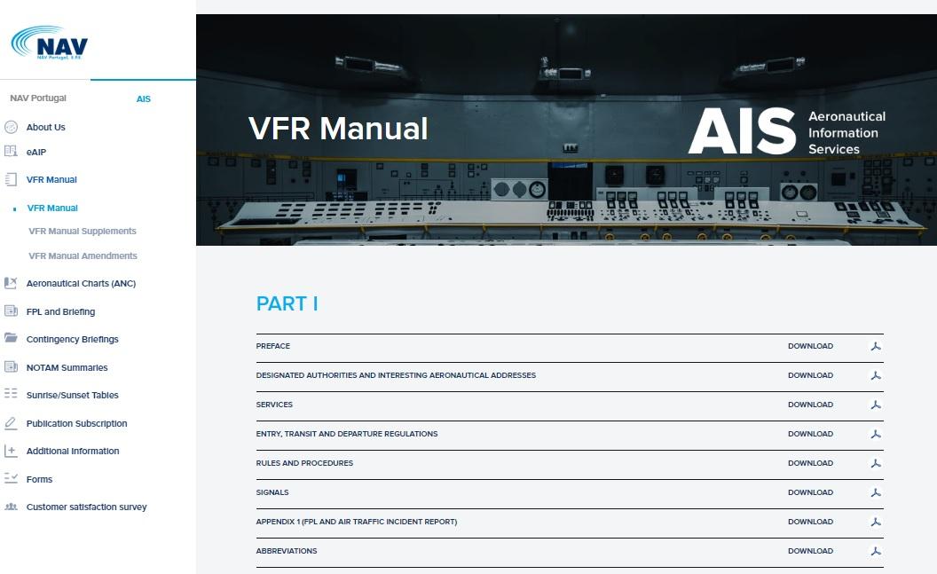 Emenda ao Manual VFR – 044/2019