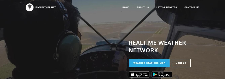 FlyWeather – Aplicação Apple e Android