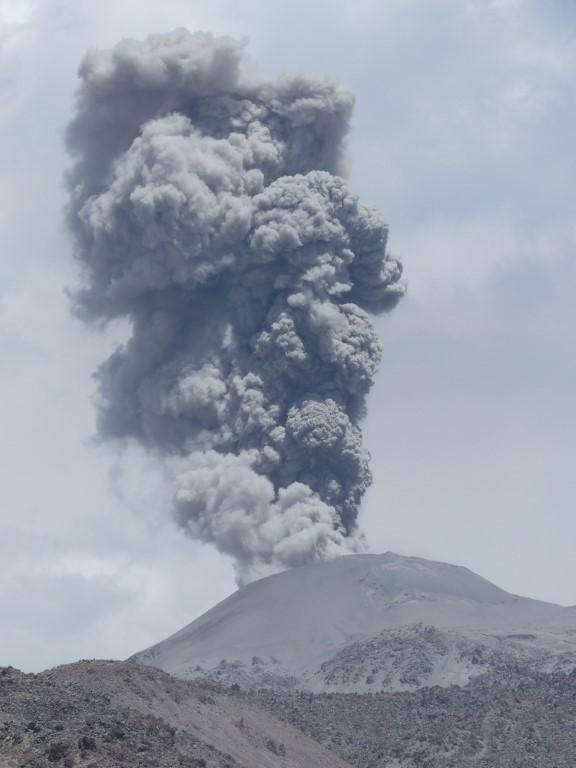Cinzas vulcânicas – Exercício