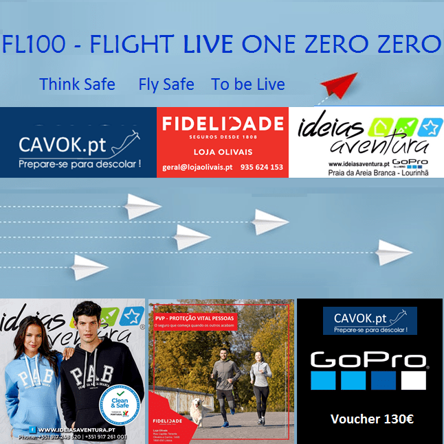 Flight LIVE One Zero Zero – CONVITE LIVE