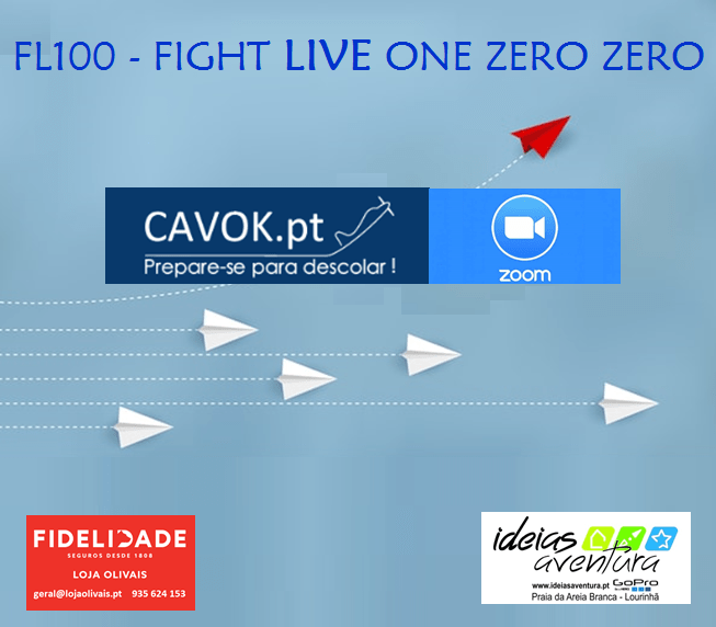 Flight LIVE One Zero Zero – CONVITE LIVE Santarém